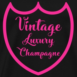 Luxe Luxe Luxe Design Champagne Rose - T-shirt Premium Homme