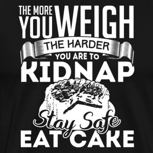 Stay Safe Eat Cake - Männer Premium T-Shirt