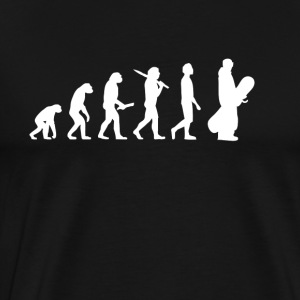 Snowboard Snowboarder Evolution - Men's Premium T-Shirt