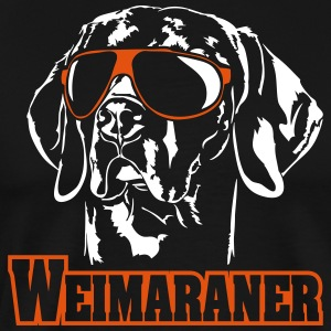 WEIMARANER cool - Men's Premium T-Shirt