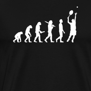 Tennisspelare Evolution - Premium-T-shirt herr