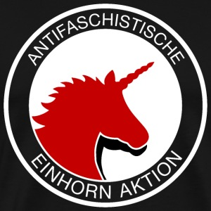 Acción unicornio antifascista