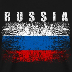 Russia Flag 008 AllroundDesigns - Men's Premium T-Shirt