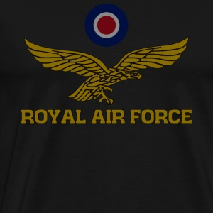 Royal Air Force roundel et aigle subjugué T-Shirt - T-shirt Premium Homme