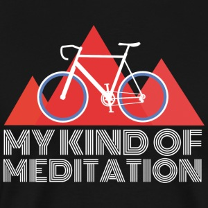 Road Mountain Meditation - Herre premium T-shirt