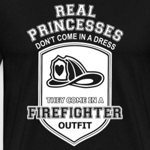 Firefighter gift idea Birthday T-Shirt Love - Men's Premium T-Shirt