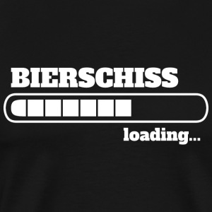 Bierschiss loading - WC - Männer Premium T-Shirt