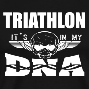TRIATHLON - It's in my DNA - Men's Premium T-Shirt