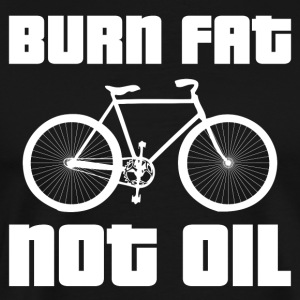 Burn Fat Ikke Oil - Herre premium T-shirt