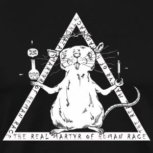 The Real Martyr Of Human Race - Männer Premium T-Shirt