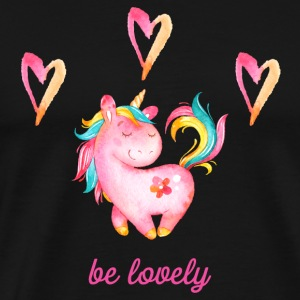 Be lovely - Unicorn Unicorn Unicorns Fabulous - Men's Premium T-Shirt