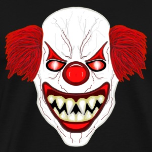 horror Clown - Premium T-skjorte for menn