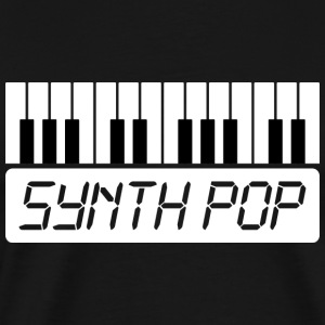 SYNTH-POP MUSIC (1) - Premium-T-shirt herr