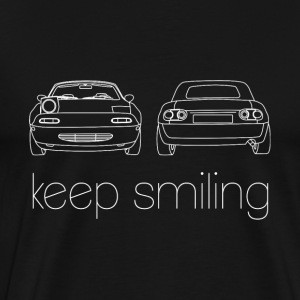 Hold Smiling Auto Fan Shirt - Herre premium T-shirt
