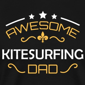 Kitesurfing dad - Men's Premium T-Shirt