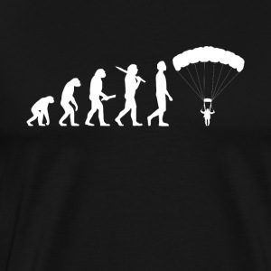 Skydiving Evolution - Men's Premium T-Shirt