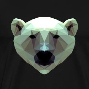 Conception 3D Polygon Ours Icebear T-shirt T - T-shirt Premium Homme