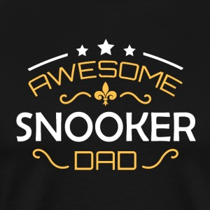snooker Dad - Mannen Premium T-shirt