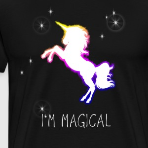 unicorn unicorn rainbow sparkle magic magic jam - Men's Premium T-Shirt