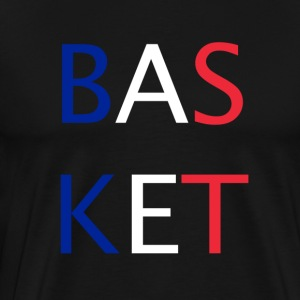 BASKETBOLL - Premium-T-shirt herr