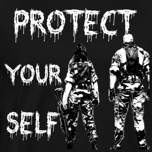 Project your self, Protect yourself - Men's Premium T-Shirt