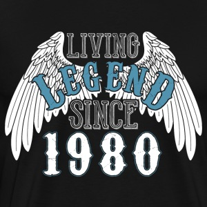 Levande legend sedan 1980 - Premium-T-shirt herr
