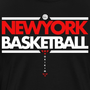 Horikima NY Basketball Men's T-Shirt - Männer Premium T-Shirt