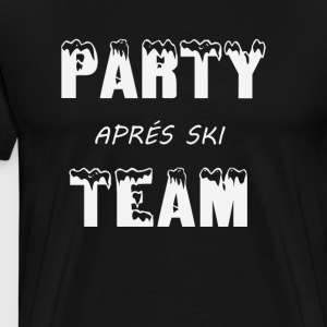 Apresski Party party apresski ski cottage ski - Men's Premium T-Shirt