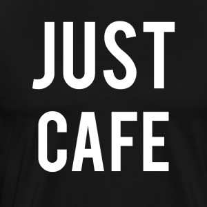 just Cafe - Premium-T-shirt herr