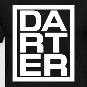 Dart player t-shirt - Men's Premium T-Shirt