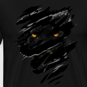 Black panther inside - Men's Premium T-Shirt