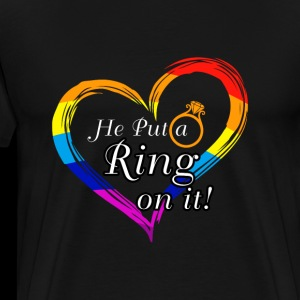 LGBT Bachelor Party - HE PUT A RING ON IT !!