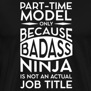 Part-time model - Men's Premium T-Shirt