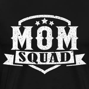 MOM SQUAD - Premium T-skjorte for menn