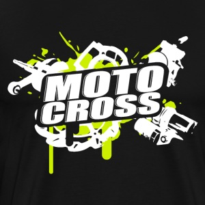 Cross Supermoto Enduro Vol.I g / w - Premium-T-shirt herr