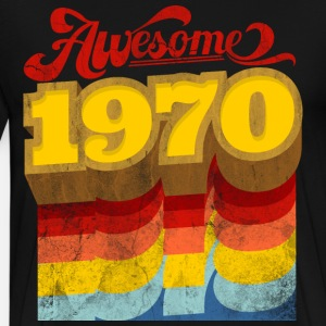 awesome 1970 birthday gift retro vintage style