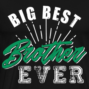 Big Best Brother Ever - Premium T-skjorte for menn