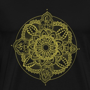 Golden Zendala - Men's Premium T-Shirt