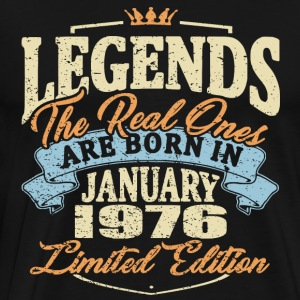 Real legends are born in january 1976