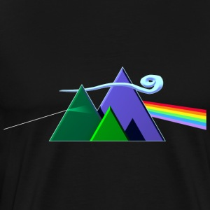Dark Side Of The Mountains - Maglietta Premium da uomo