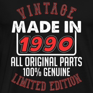 Vintage Made in 1990 - Men's Premium T-Shirt