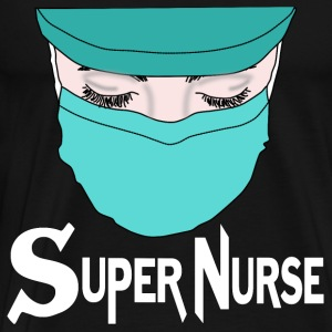 Hospital Doctor Super Nurse ER Surgery - Herre premium T-shirt
