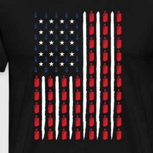 Steam Vaping USA - Premium-T-shirt herr
