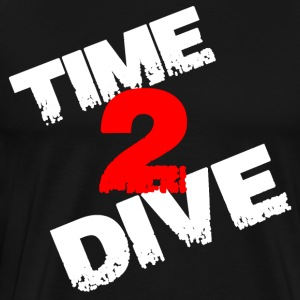 Time 2 Dive Gift - Premium-T-shirt herr