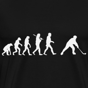 hockey evolutie - Mannen Premium T-shirt