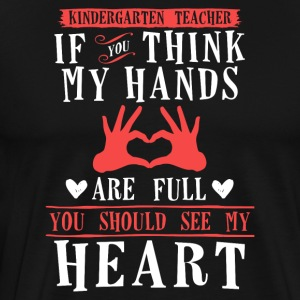 Kindergarten Teacher - Männer Premium T-Shirt