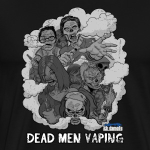 Dead Men Vaping - Männer Premium T-Shirt
