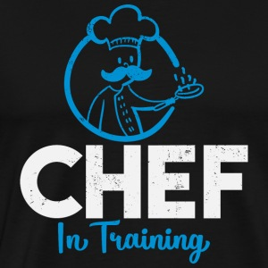 Chef in Training - Koch - Männer Premium T-Shirt