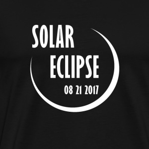 Solar Eclipse 2017 - Men's Premium T-Shirt