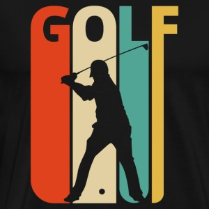 Vintage Retro Golf Gifts for Golfer. Golf Player.